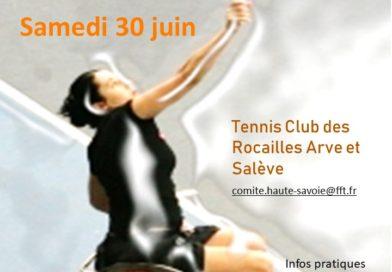 Fête  départementale  du para – tennis – adapté – santé 30 juin  2018
