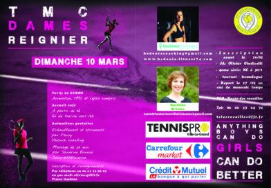 TMC Dames au TC les Rocailles 10/03