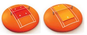 Défi rouge et orange au TC les Rocailles Arve & Salève